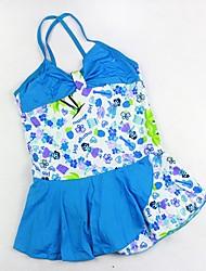 Bella Multi Color One Piece Cute Baby Swimwear della ragazza