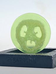 Tailândia Chá Verde e bucha Essencial 90g Oil Soap