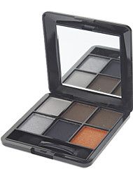 Mixiu 6 Color Natural Eye Shadow(Color NO.5)