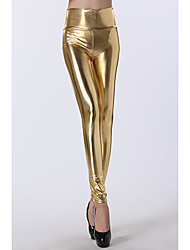 Women's Gold High Waist Leggings