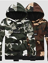 Men's European Street Trend Camo Hoodies