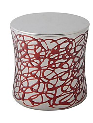 Crective Epoxy-painted Stainless Steel Storage Tank - Red and Silver