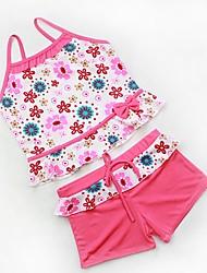 Girl's Cute Multi Color Tankinis Baby Swimwear