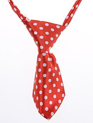 All Seasons Wedding / Cosplay Terylene Tie for Dogs / Cats Red