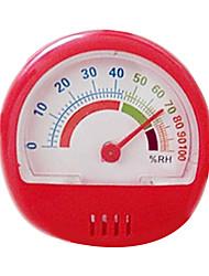 Mini secretária relógio Termo-Higrómetro (-30 ° C a 50 ° C ,0-100% de humidade relativa; ± 1 ° C, ± 5% HR)