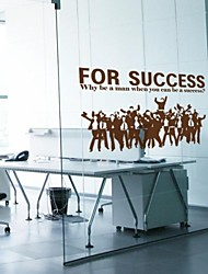 People Business Success Decorative Wall Stickers