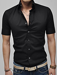 Fengshang Fashion Short Sleeve Shirt (schwarz)