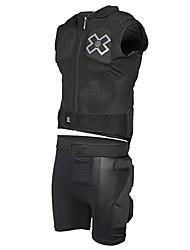 MOON résistant à l'usure noir respirant vélo de protection Suit