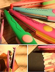 Business Lace Plastic & Metal Scissors & Utility Knives(Random Colors,1pc)