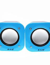 Music-M-808X  High Quality Stereo USB 2.0Multimedia Speaker  (Blue)
