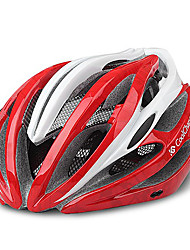 CoolChange 23 Vents Red EPS Ajustable Fahrradhelm