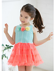 Girl's Dress Lace Summer
