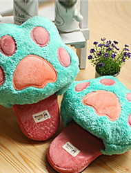 Cute Bear Claw Slide Lana Slipper - 3 Colores disponibles