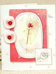 Bloemen ZijKaart Fold groet met Boog voor Moederdag