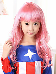 100% Kanekalon Synthetic Full Bang Lovely Children's Wig for Festival Party