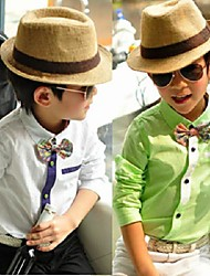 Boy's Cotton Shirt,All Seasons Solid