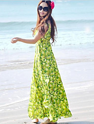 Women's Dresses , Chiffon Beach/Casual DGWE