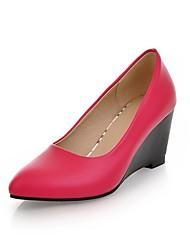 talones de cuña de talón de las mujeres de las bombas / zapatos de tacones altos (más colores)