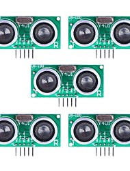 Ultrasonic Sensor US-100 Distance Measuring Module with Temperature Compensation - Green (5Packs)