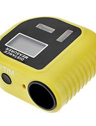 Ultrasonic Distance Meter Measurer Point Laser 2-Indicatore del livello Range Finder (0.5 ~ 18m, + /-1cm)