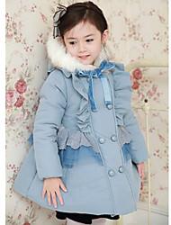 Girl's Cotton/Lace Jacket & Coat , Winter Long Sleeve