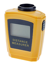Portable Ultrasonic Distance Measurer Meter Digital Rangefinder Laser Pointer(0.5~18m,+/-1cm)