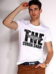 Pure Color manches courtes Homme T-shirt