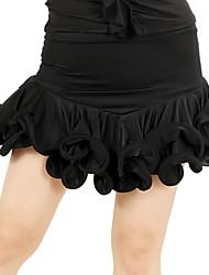 Dancewear Women's Pretty Ruffle Viscose Latin Dance Skirts(More Colors)