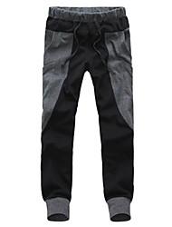 Moda uomini pantaloni casual