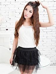 The Girl Cake Yarn Shape of Skirt