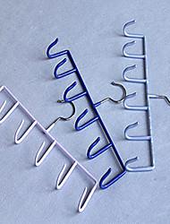 Cliassic fer forgé de solides crochets colorés