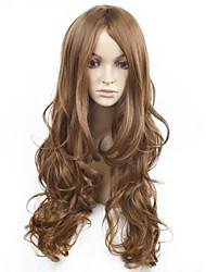 Fashion   Hair  Long  Bang   Curly  Hair   Wig