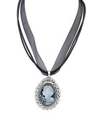 Style européen Vintage (dames) en alliage collier pendentif en résine (1 pc)
