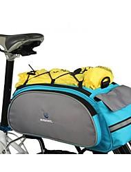 Ciclismo Poliéster 600D antidesgaste Resistente a los golpes Moda bicicletas Shelf Bike Bag Back Seat bolsa