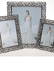 """6""""7""""10"""" Modern European Style Pearl Metal Picture Frame"""
