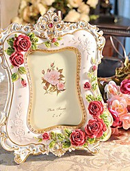 """6""""Modern European Style Pearl Metal Picture Frame"""