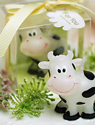 Smiling Cow Candle