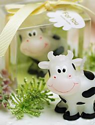Vache de sourire bougie