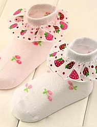 Children's Lace Socks 2 Pairs