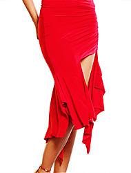 Dancewear Women's Sexy Viscose Latin Dance Skirt(More Colors)