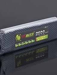 LION 11.1V 2600mah 3S 30C batterie Li-Po (T Plug)
