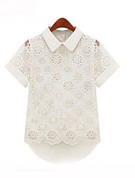 Women's Tops & Blouses , Cotton Blend Casual Beauty