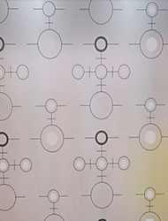 Motif Fantaisie géométrique Cercle Window Film