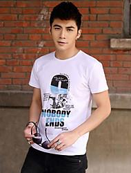 Men's Number Print T Shirt