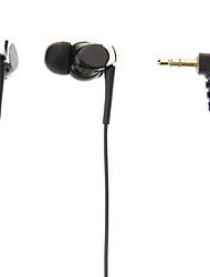 SD-Q5 3.5mm-ear Headset cuffia con microfono per MP3 (nero)