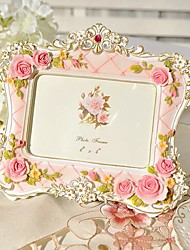 """6""""Modern European Style Pearl Polyresin Picture Frame"""