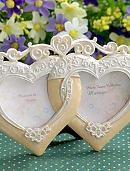 "5 ""Modern European Style Pearl Polyresin Picture Frame"