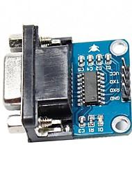 puerto serie RS232 a TTL para módulo convertidor (para arduino) (con la transmisión y recepción indicador)
