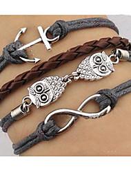 Hibou bracelet des femmes