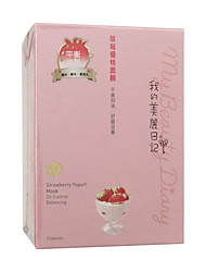 My Beauty Diary Strawberry Yogurt Mask 10pcs